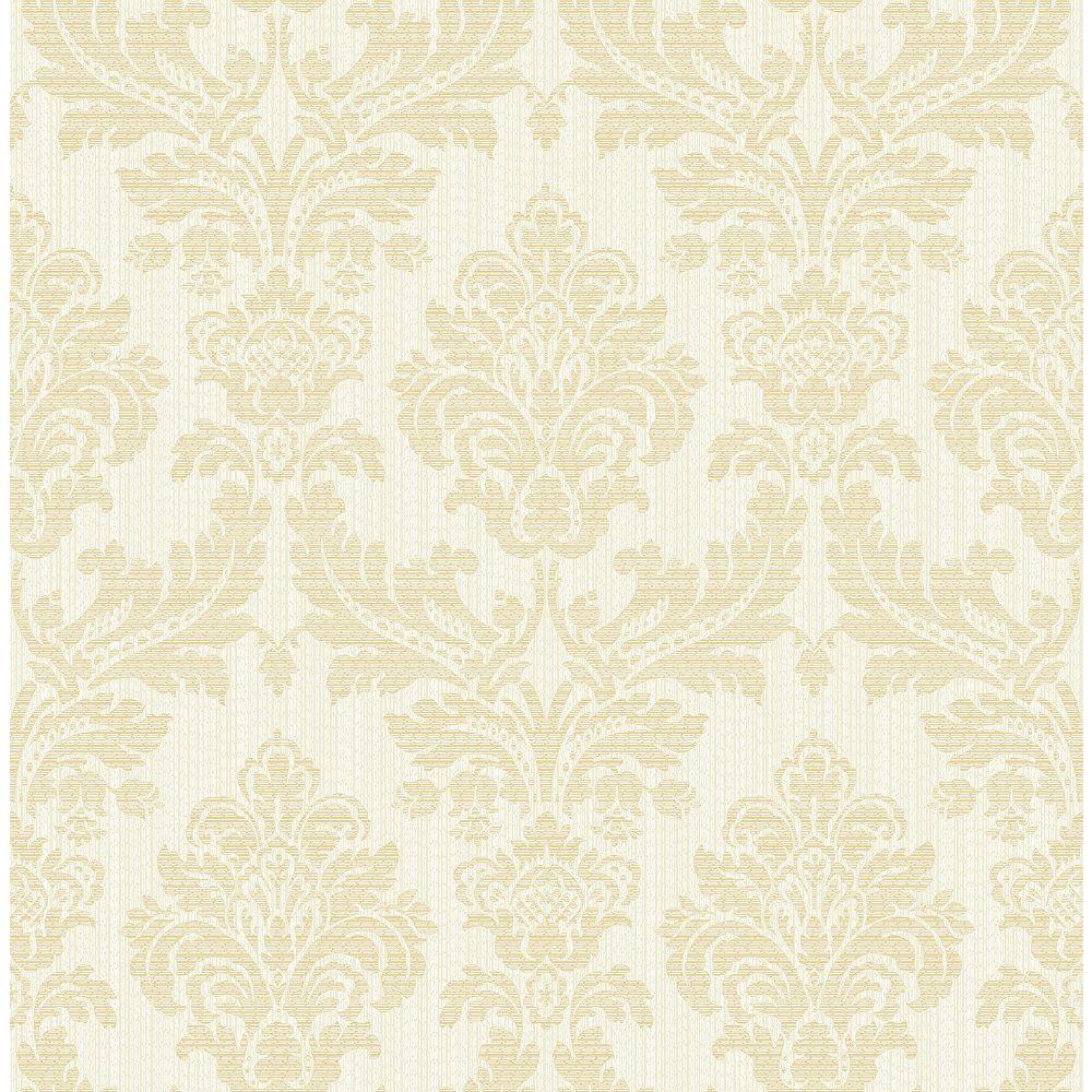 Advantage Piers Cream Texture Damask Wallpaper