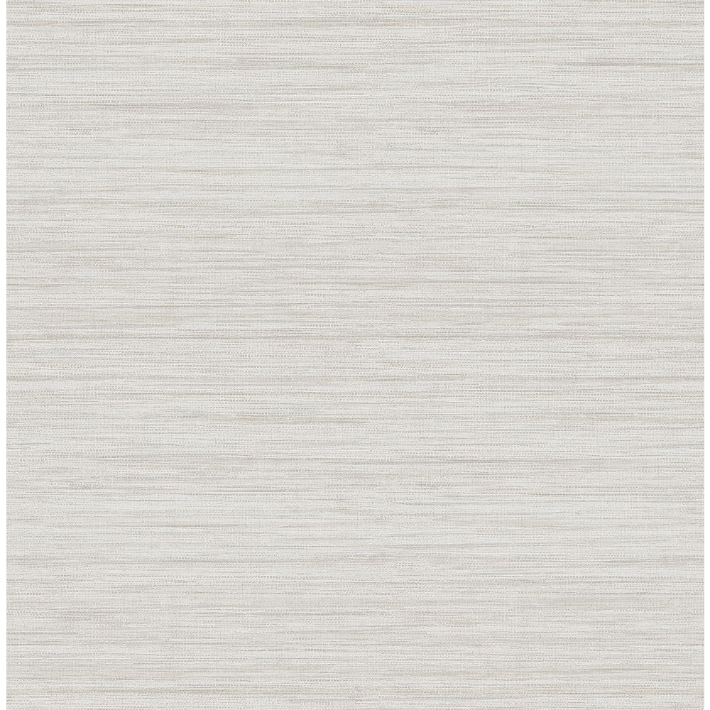 A-Street Prints Barnaby Off-White Faux Grasscloth Wallpaper