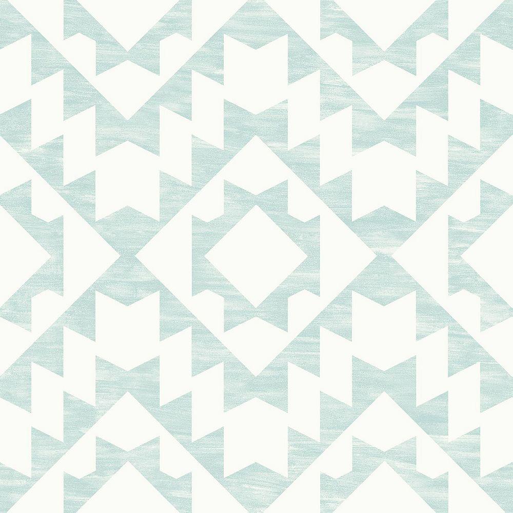 ESTA Home Fantine Mint Geometric Wallpaper