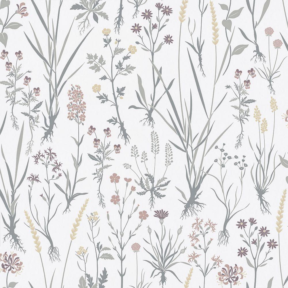 Sandudd Harald Multicolor Botanical Wallpaper