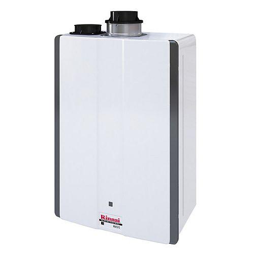Super High Efficiency 7.5 GPM 160,000 BTU Propane Gas Interior Tankless Water Heater