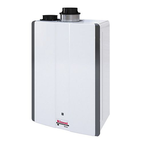 Super High Efficiency 6.5 GPM 130,000 BTU Natural Gas Interior Tankless Water Heater