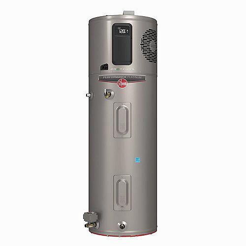 Rheem ProTerra 65G 10-Year Hybrid High Efficiency Electric Water Heater with Leak Detection & Auto Shutoff