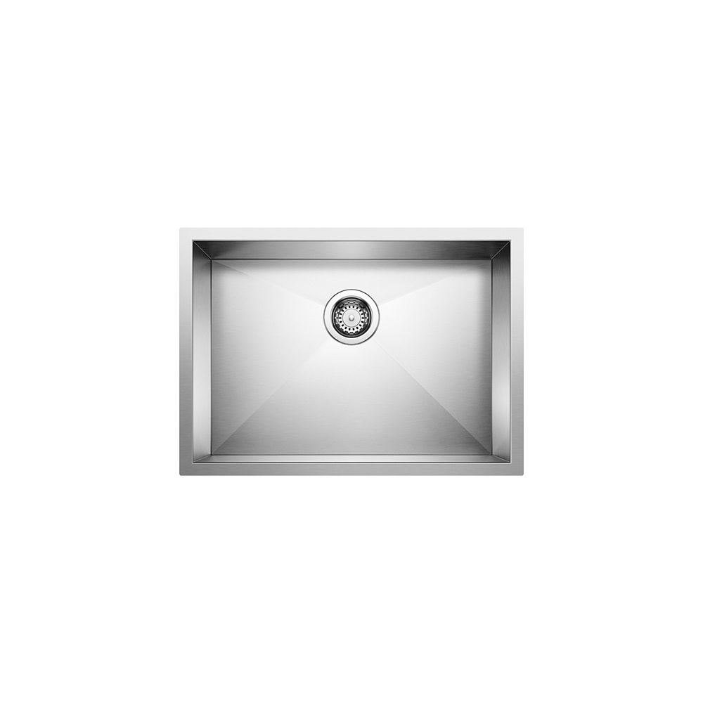 Blanco Quatrus Single Undermount Stainless Steel 25-inch Kitchen Sink