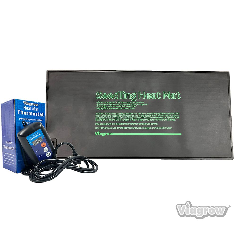 Viagrow 20.5 in. Single Tray Heat Mat