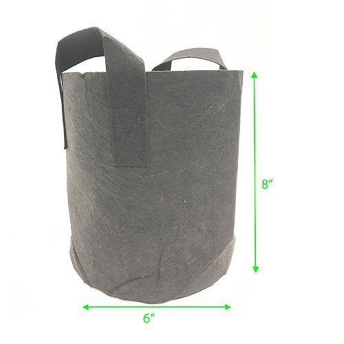 Viagrow 1 Gal Fabric Grow Bags 5-Pk
