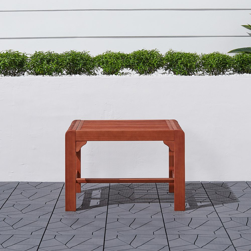 Vifah Malibu Outdoor Backless Garden Stool