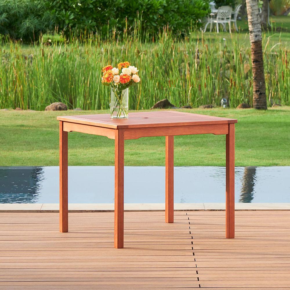 Vifah Malibu Outdoor Stacking Table
