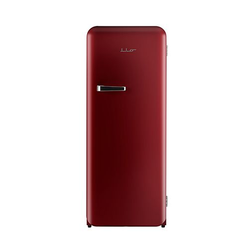 iio 10 cu. ft. Retro single door refrigerator with freezerette
