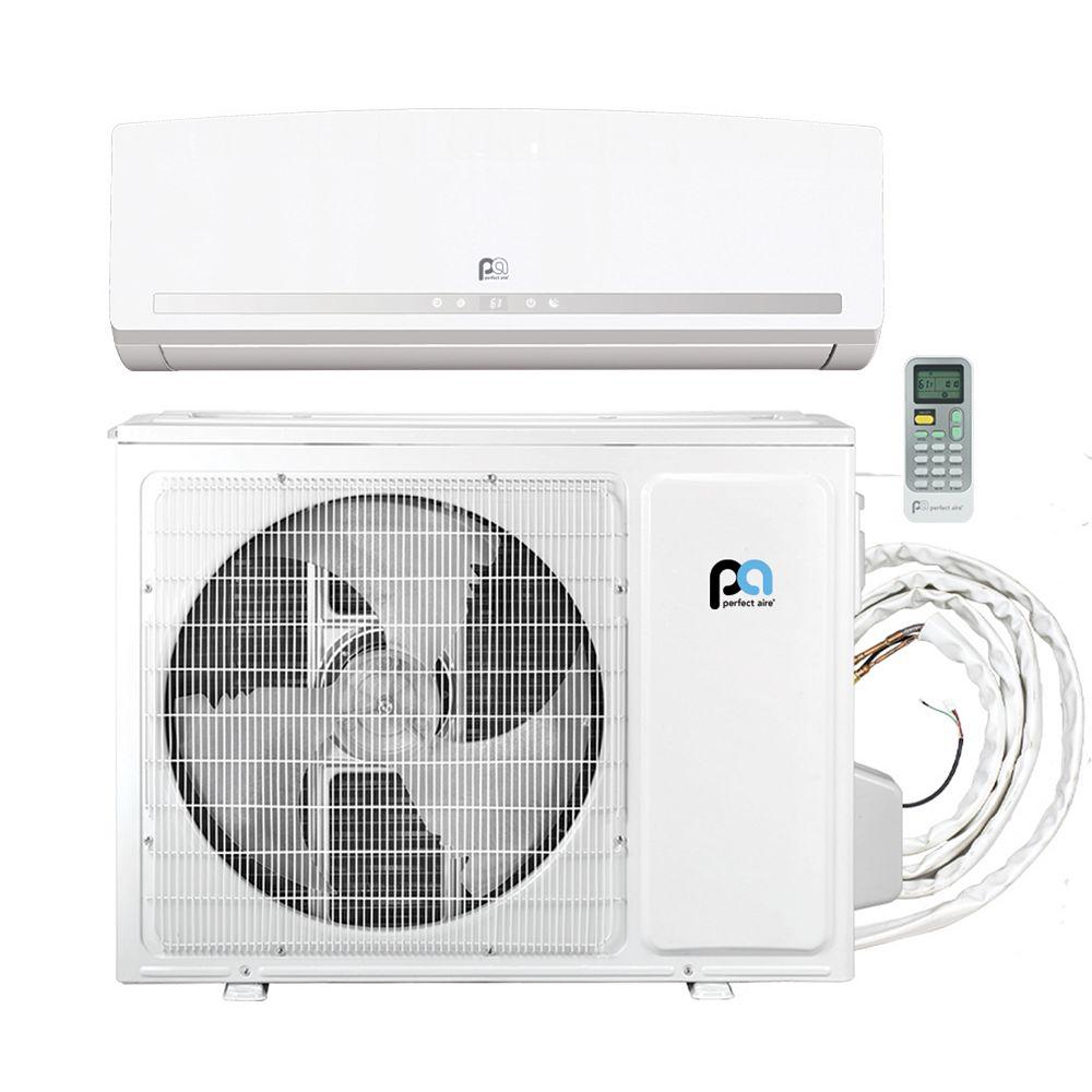 Perfect Aire 18,000 BTU 23.3 SEER Quick Connect Mini-Split Heat Pump Kit, Covers 750 Sq. Ft. (230V)