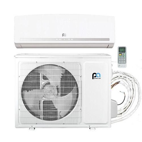 18,000 BTU 23.3 SEER Quick Connect Mini-Split Heat Pump Kit, Covers 750 Sq. Ft. (230V)
