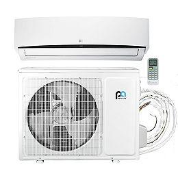 36,000 BTU 17.6 SEER Quick Connect Mini-Split Heat Pump Kit, Covers 1,500 Sq. Ft. (230V)