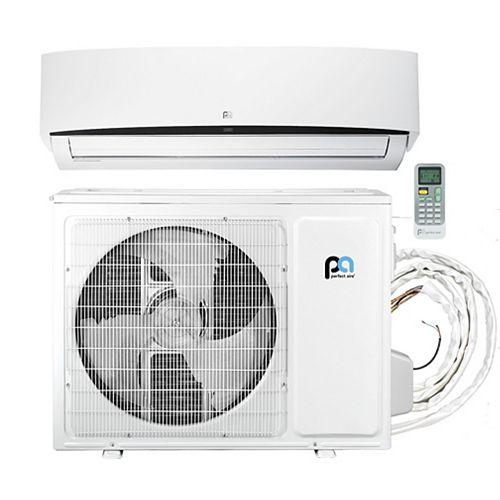 Perfect Aire 36,000 BTU 17.6 SEER Quick Connect Mini-Split Heat Pump Kit, Covers 1,500 Sq. Ft. (230V)