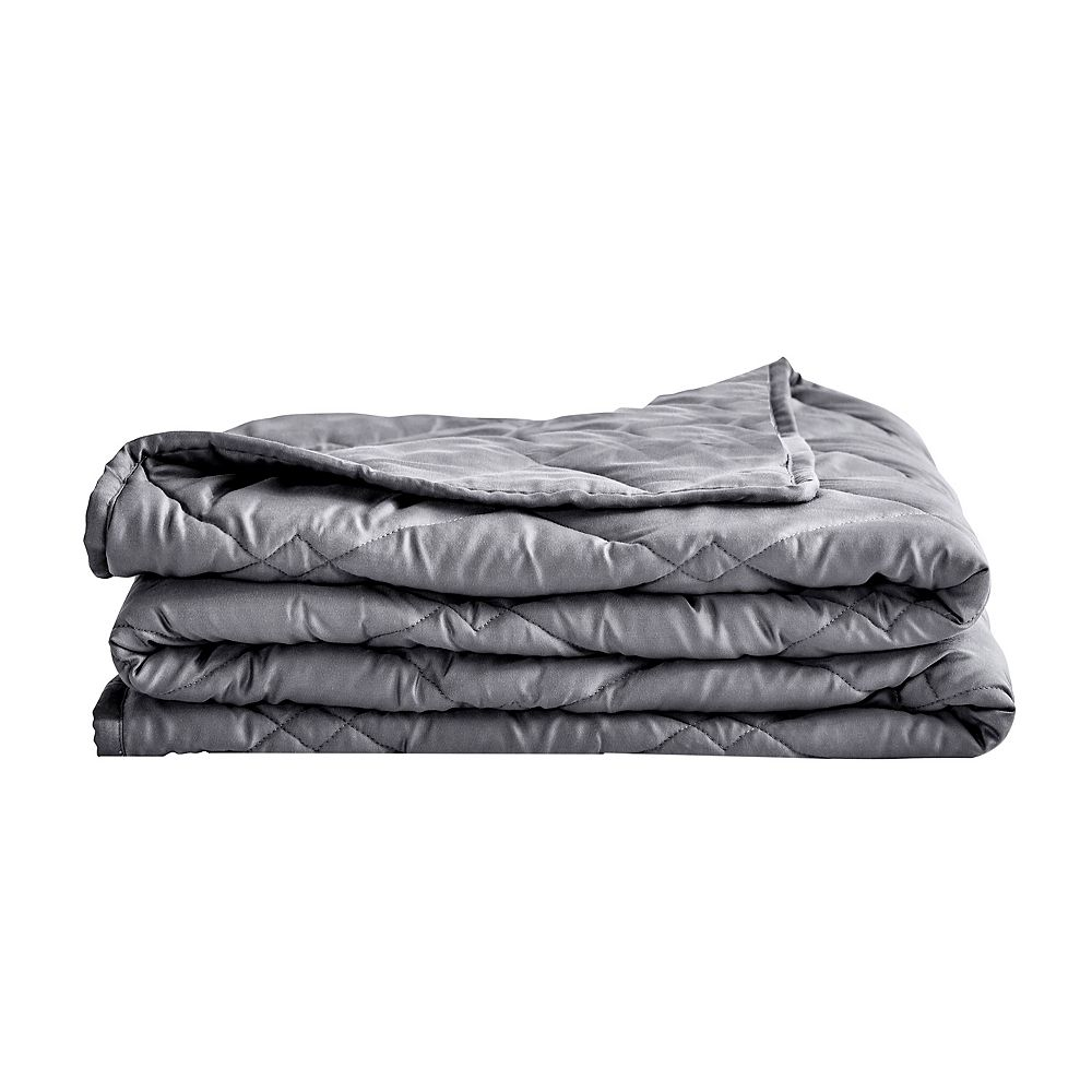 Rejuve Tencel Weighted Throw Blanket 12 lbs - Grey