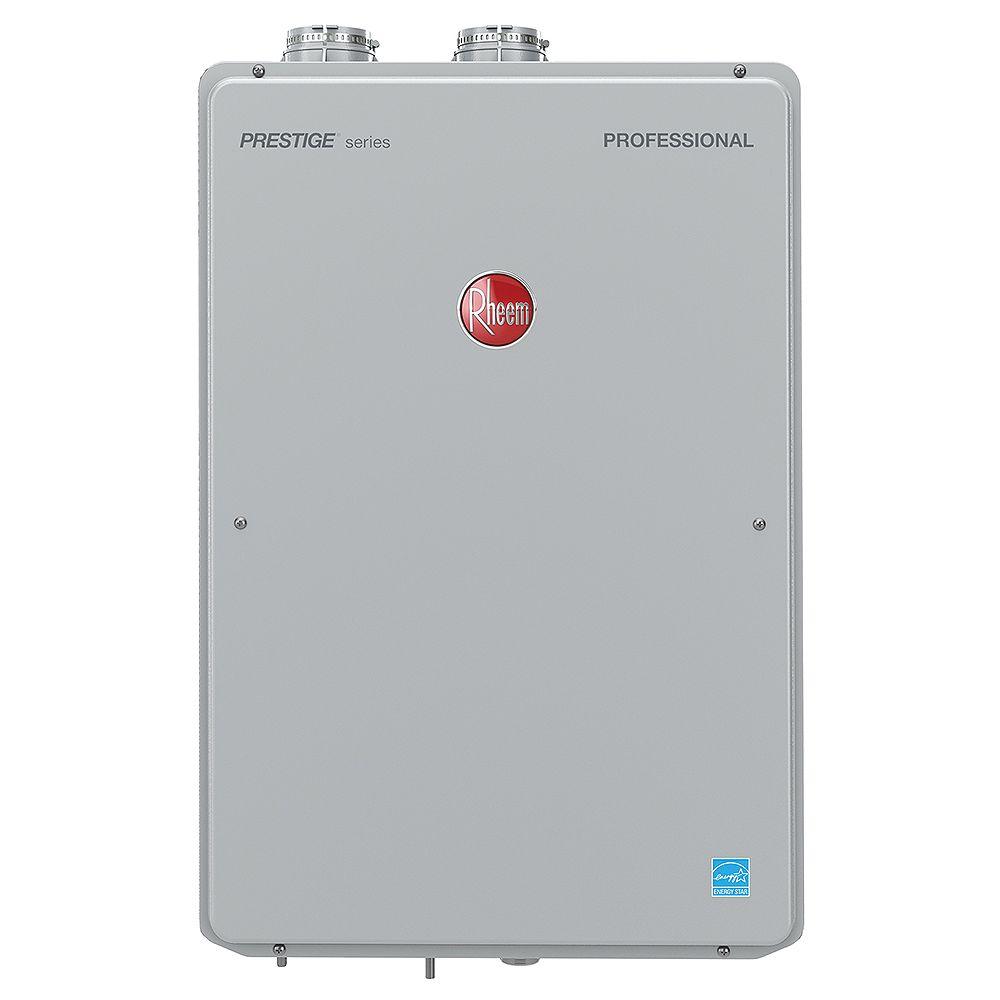 Rheem Rheem Platinum Condensing 16 Litres Per Minute Propane Tankless Water Heater, 180K BTU