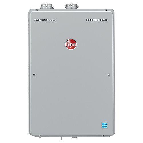 Rheem Platinum Condensing 16 Litres Per Minute Propane Tankless Water Heater, 180K BTU