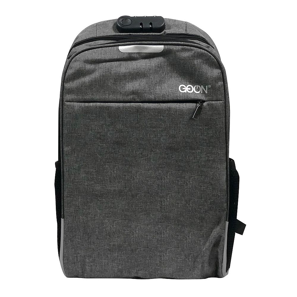 GO ON GoOn Anti-Theft Tech Back Pack Grey