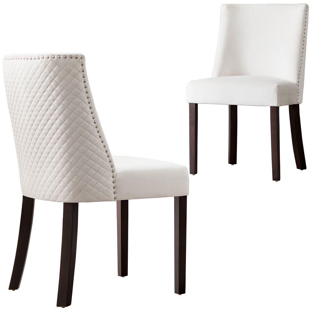OVIOS White Dining Chairs