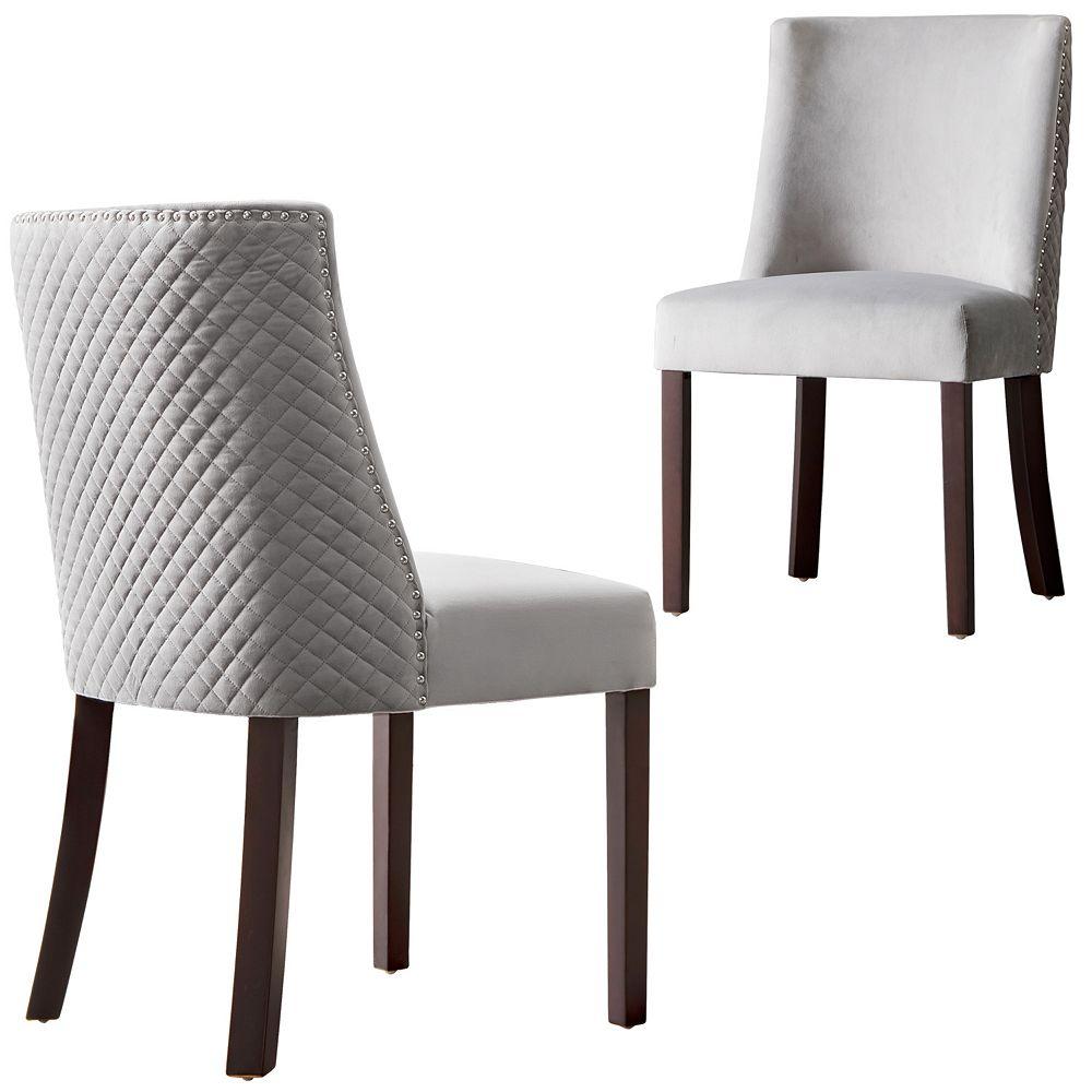 OVIOS Grey Dining Chairs