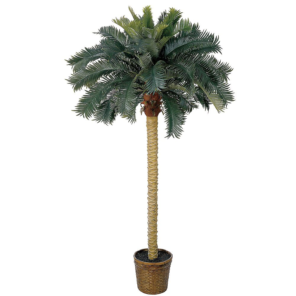 Nearly Natural 6 ft. Artificial Sago Palm Tree