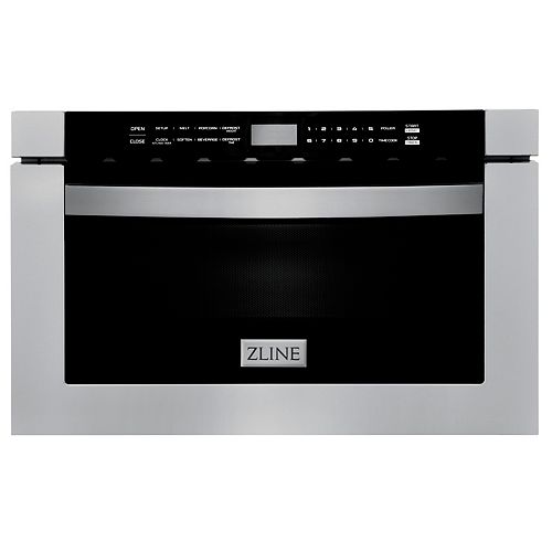 """24"""" 1.2 cu. ft. Microwave Drawer in Stainless Steel"""