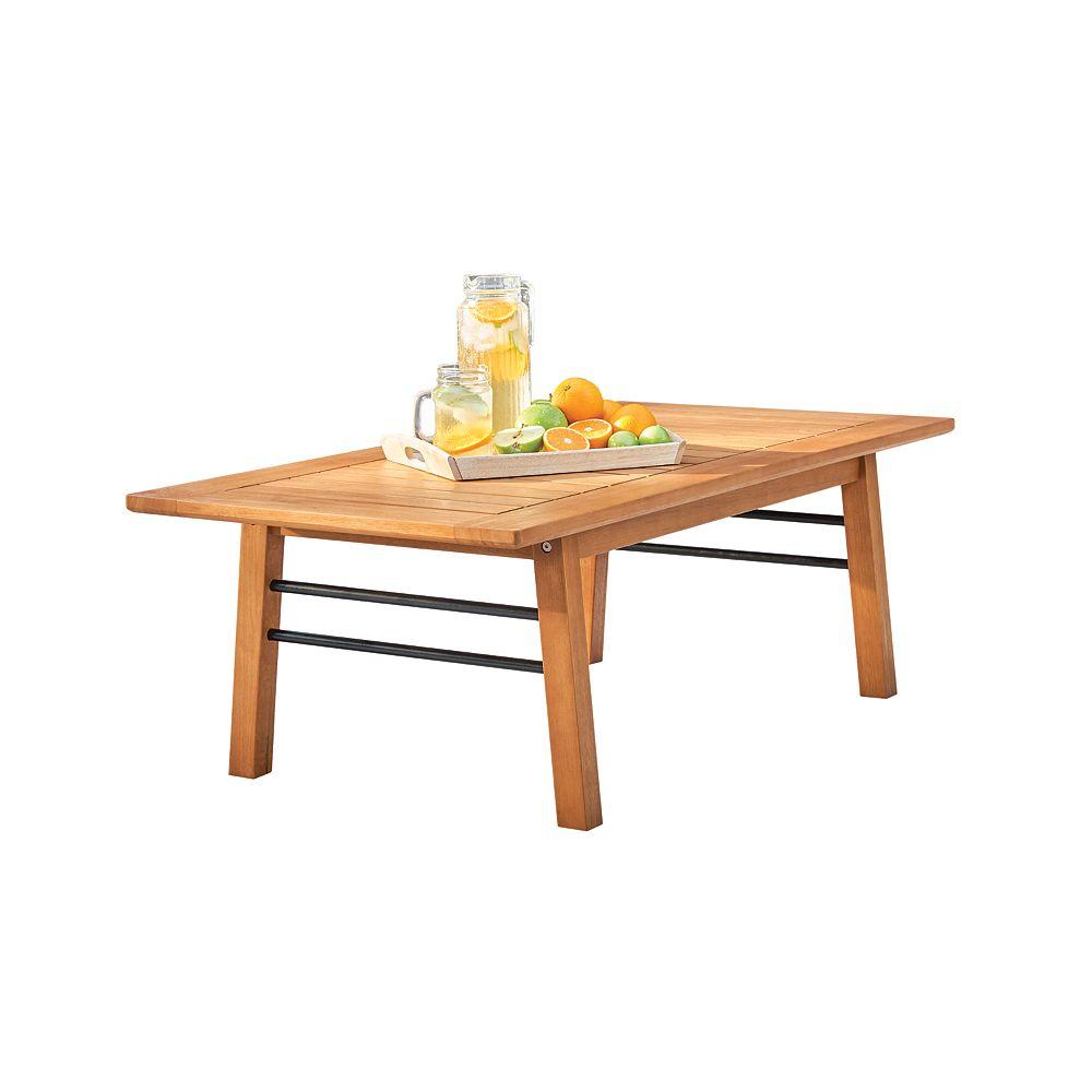 Vifah Gloucester Contemporary Patio Wood Sofa Table
