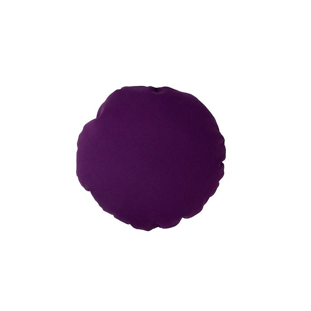 Bozanto Inc. Toss Cushion Purple