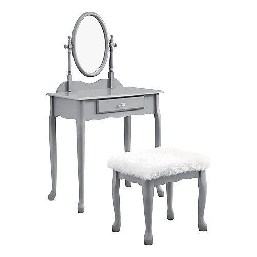 Vanity Set - 2Pcs Set / Grey