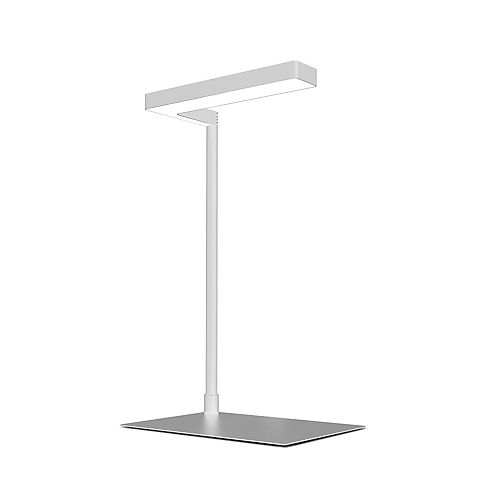 17 inch 14-Watt White 3-Modes Full Spectrum Integrated LED Indoor Table Top Plant Grow Light