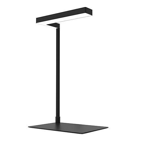 17 inch 14-Watt Black 3-Modes Full Spectrum Integrated LED Indoor Table Top Plant Grow Light