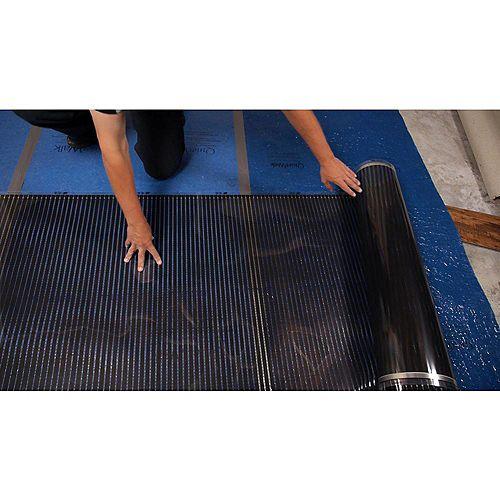 3 ft. x 25 ft. 240V Floor Heating System for Laminate, Vinyl, and Floating Floors (75 sq. ft.)