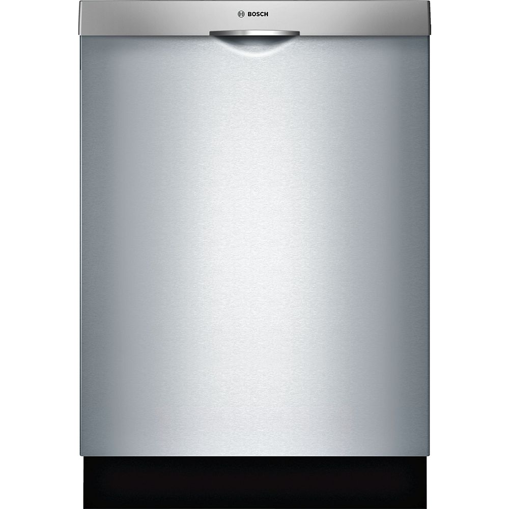 Bosch 300 Series 24-inch Top Control Dishwasher in Stainless Steel, 46 dBA