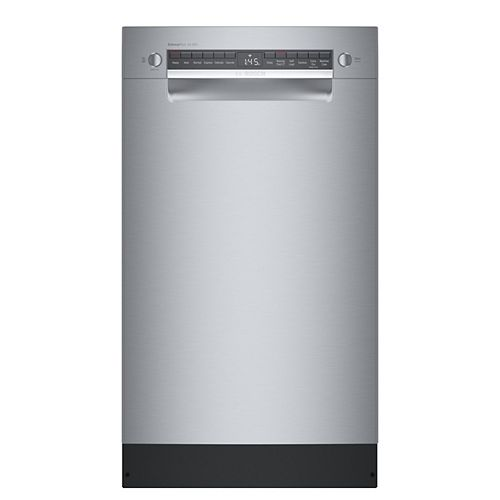 Bosch 800 Series 18-inch Front Control Smart Dishwasher in Stainless Steel, 3rd Rack, 44 dBA ENERGY STAR®