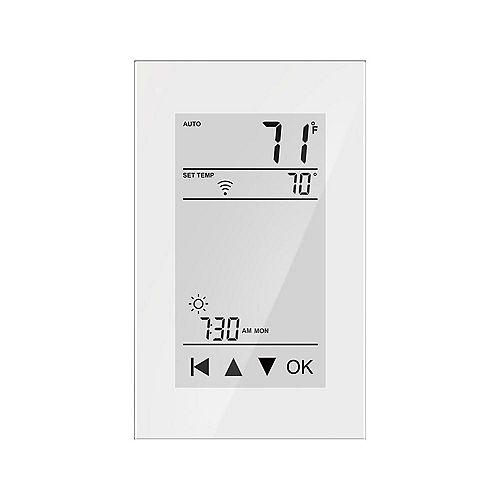Thermostat domestique intelligent, programmable 7 jours, pour chauffage par le sol avec sonde au sol