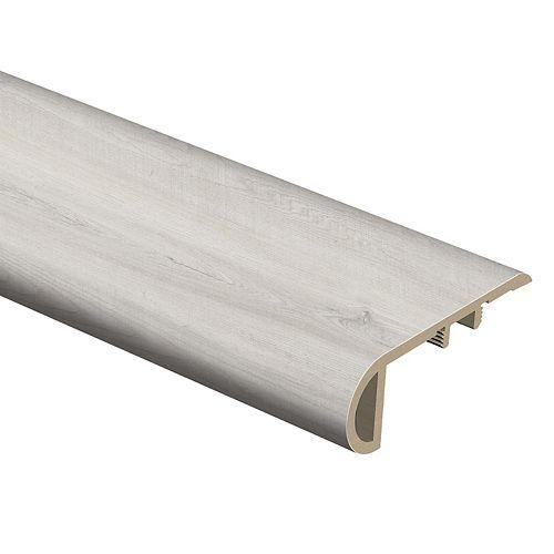 Zamma Sandpiper Oak .75 inch x 2.125 inch x 94 inch Stair Nose Molding