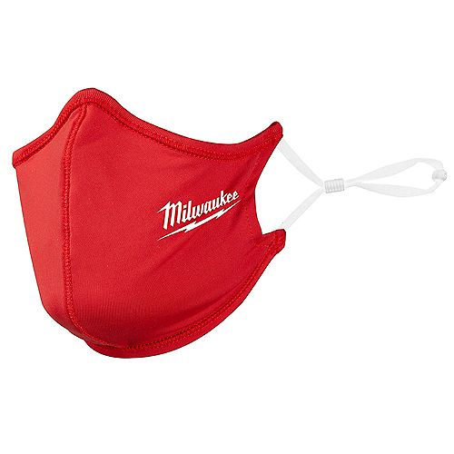 Red 2-Layer Reusable Face Mask