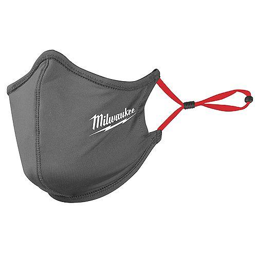 Milwaukee Tool Gray 2-Layer Reusable Face Mask (10-Pack)