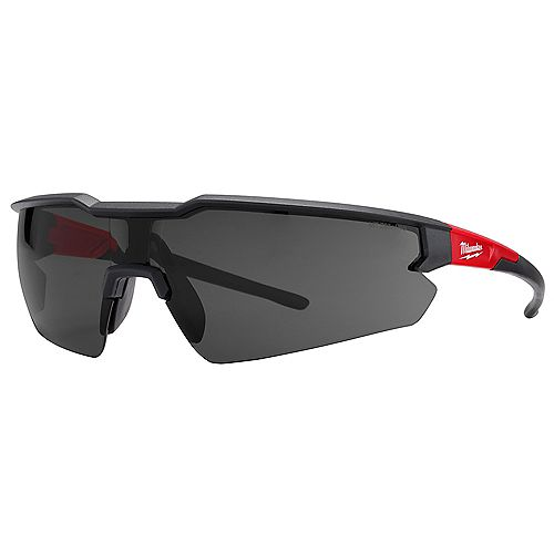 Safety Glasses with Tinted Anti-Scratch Lenses (Polybag)