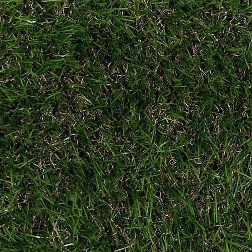 Prairie Green 12ft./366cm x Custom Length Outdoor Artificial Shag Grass Carpet