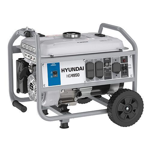 4,950-Watt Portable Gas Powered Generator | Model: HG4950