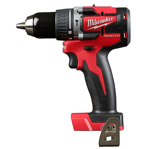 M18 18V Lithium-Ion Brushless Cordless 1/2 -inch Compact Brushless Hammer Drill/Driver (Tool Only)