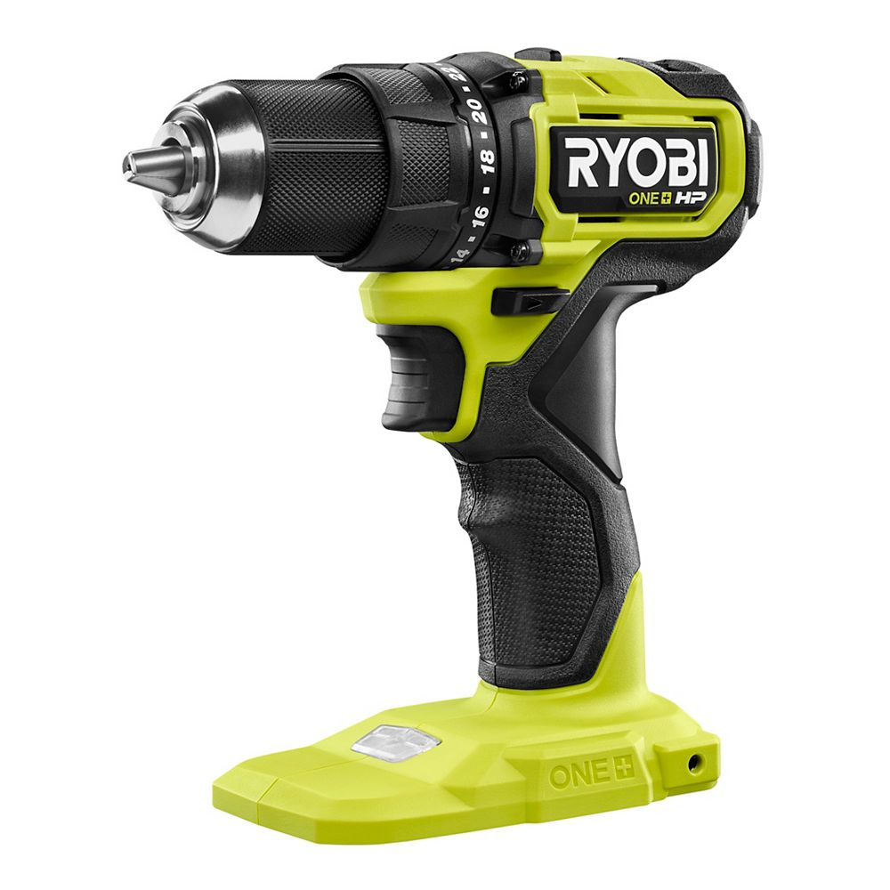 RYOBI 18V ONE+ HP Brushless Cordless Compact Drill/Driver (Tool-Only)
