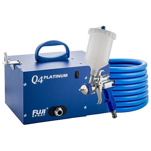 Fuji 2894-T75G Q4 PLATINUM - Système Pulvérisateur HVLP Par Gravité T75G