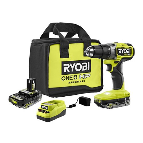 18V ONE+ HP Brushless Cordless Drill/Driver Kit with (2) 2.0 HP Batteries and Charger