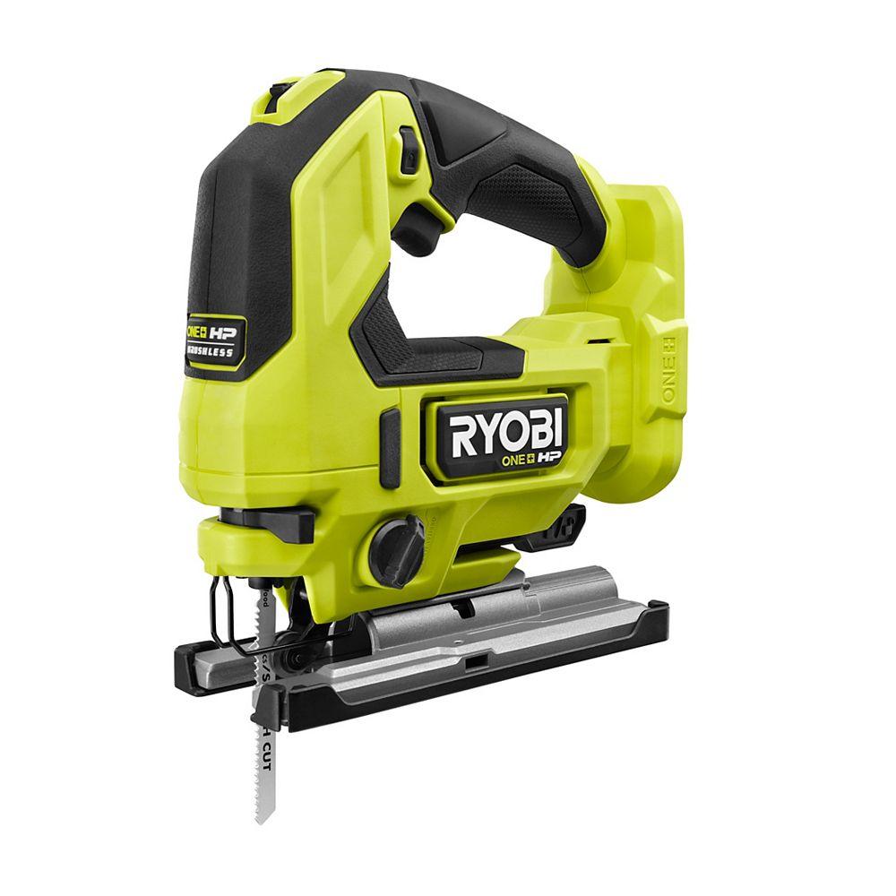 RYOBI 18V ONE+ HP Brushless Cordless Jig Saw (Tool-Only)