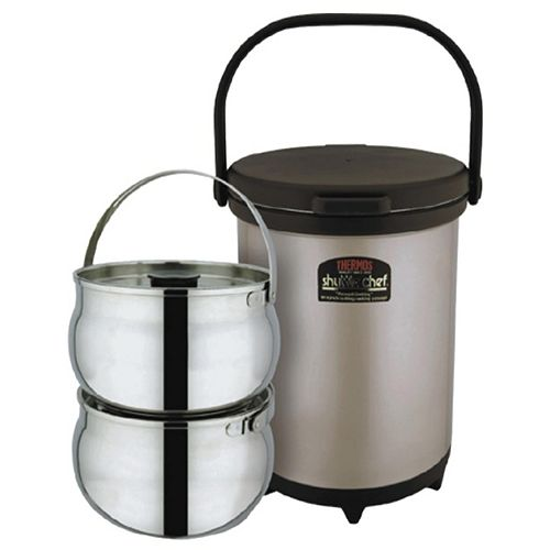 Shuttle Chef Stainless Steel Vacuum Insulated Thermal Cooker (6L)