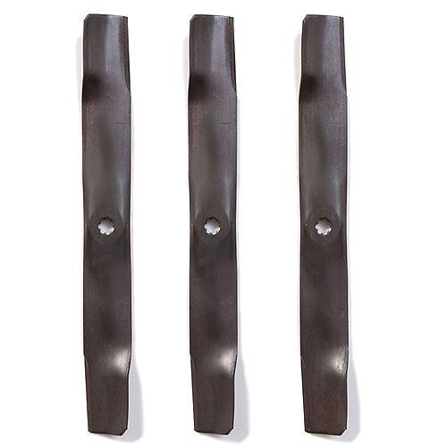 John Deere 48-in 3-Pack Bagging Blades 100 Series