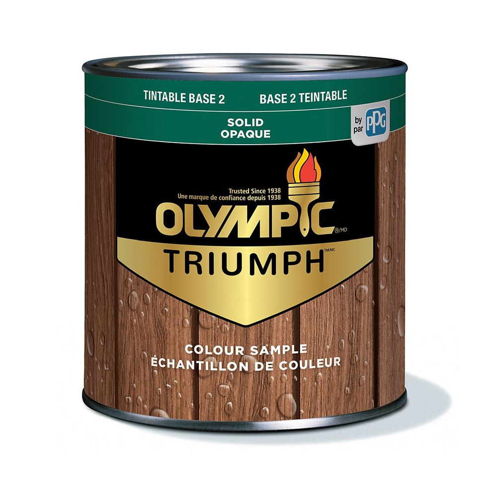 Olympic Triumph Solid Stain plus Sealant Base 2 210 mL-8233141C