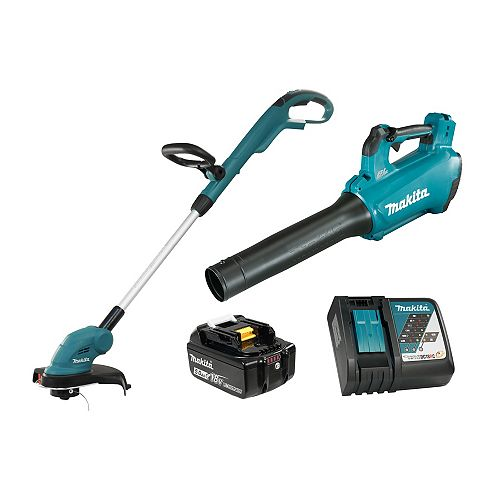"""10-1/4"""" / 18V LXT Cordless Line Trimmer with Blower"""