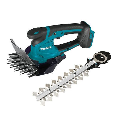 6-5/16-inch 18V LXT Cordless Grass Shear with Hedge Trimmer Attachment